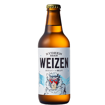 [クール便]八海山 ライディーンビール・ヴァイツェン RYDEEN BEER WEIZEN<br>【330ml×12】