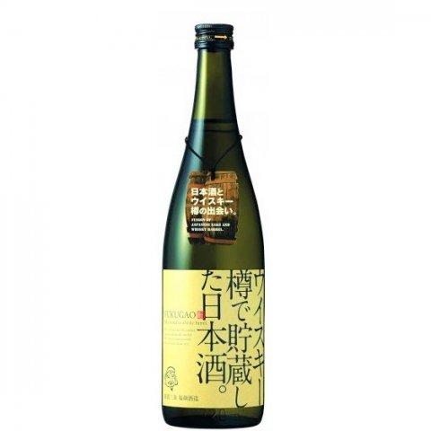 [お取り寄せ]ウイスキー樽で貯蔵した日本酒。FUKUGAO<br>【720ml】