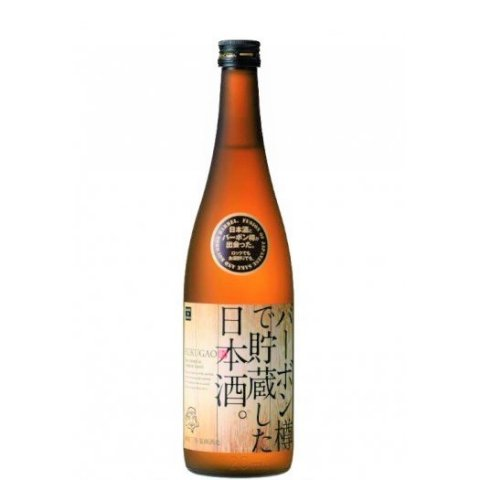 [お取り寄せ]バーボン樽で貯蔵した日本酒。FUKUGAO<br>【720ml】