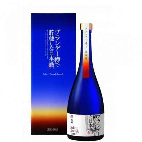 [お取り寄せ]ブランデー樽で貯蔵した日本酒。FUKUGAO<br>【750ml】