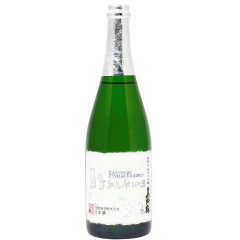 真野鶴 微発泡 純米大吟醸 スパークリング(500本限定生産)<br>【720ml】