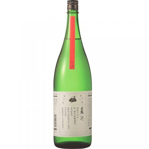 菱湖(りょうこ) 純米ドライ 生酒 NEW NIIGATA DRY[特約店限定]<br>【1800ml】