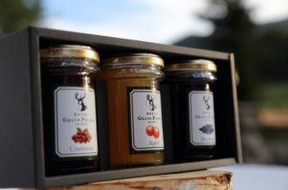 おすすめ蜂蜜ジャム3個セット : ギフト プレゼント 贈り物 贈答品 手土産 お歳暮 お中元