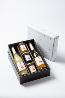 楽しみ広がるジュースとジャムのギフトセット :お中元 内祝 贈り物 贈答品 手土産