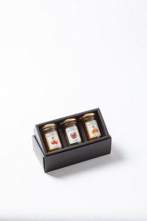 オリジナルジャム3個セット(小布施栗ジャム入り) : お中元 贈り物 内祝 手土産