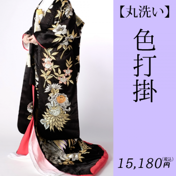 <img class='new_mark_img1' src='https://img.shop-pro.jp/img/new/icons29.gif' style='border:none;display:inline;margin:0px;padding:0px;width:auto;' />色打掛  【丸洗い】