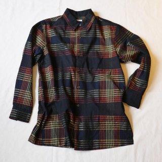 <img class='new_mark_img1' src='https://img.shop-pro.jp/img/new/icons24.gif' style='border:none;display:inline;margin:0px;padding:0px;width:auto;' />【sowbow】Regular collar shirts(Black)/蒼氓 レギュラーカラーシャツ(ブラック)