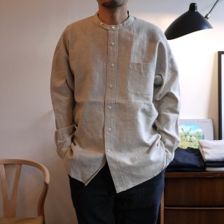 【SUNNY ELEMENT】Linen Park Shirt/サニーエレメント-リネン生地 パークシャツ-