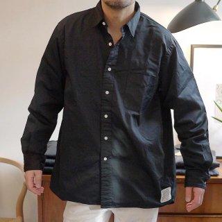 【SUNNY ELEMENT/サニーエレメント】Sleeping Shirt(black)/スリーピングシャツ(ブラック)