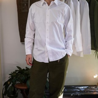 <img class='new_mark_img1' src='https://img.shop-pro.jp/img/new/icons15.gif' style='border:none;display:inline;margin:0px;padding:0px;width:auto;' />【COLINA】Minimal Shirt(White)/コリーナ -ミニマルシャツ-(ホワイト)