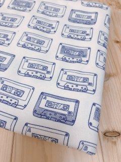 カセットテープ(インクブルー)☆40/コーマスムース☆オーダーカット