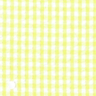 レモンイエローギンガムサッカー