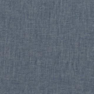 綿麻フラミンゴネイビーシャンブレー