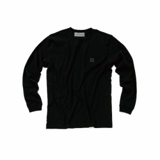 L/S crew neck T embroied