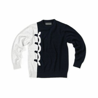 muta Bi-color Logo Knit