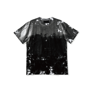 Uneven dyeing Tee