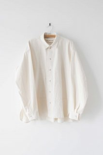 POLYPLOID   SHIRT JACKET A (off white)