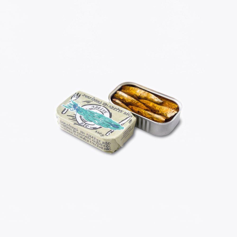 La Gondola oil sardine with organic extra virgin olive oil