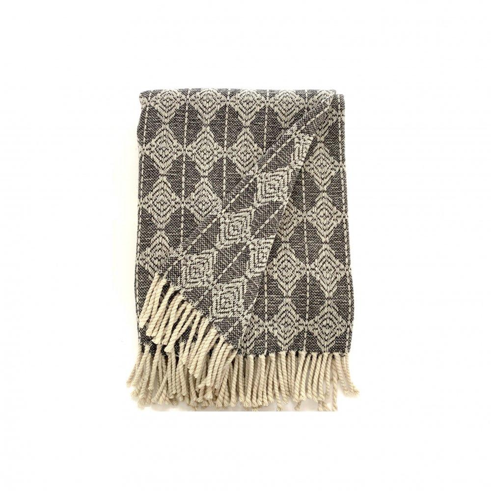Mantecas by Burel factory<br>wool blanket CLOUD