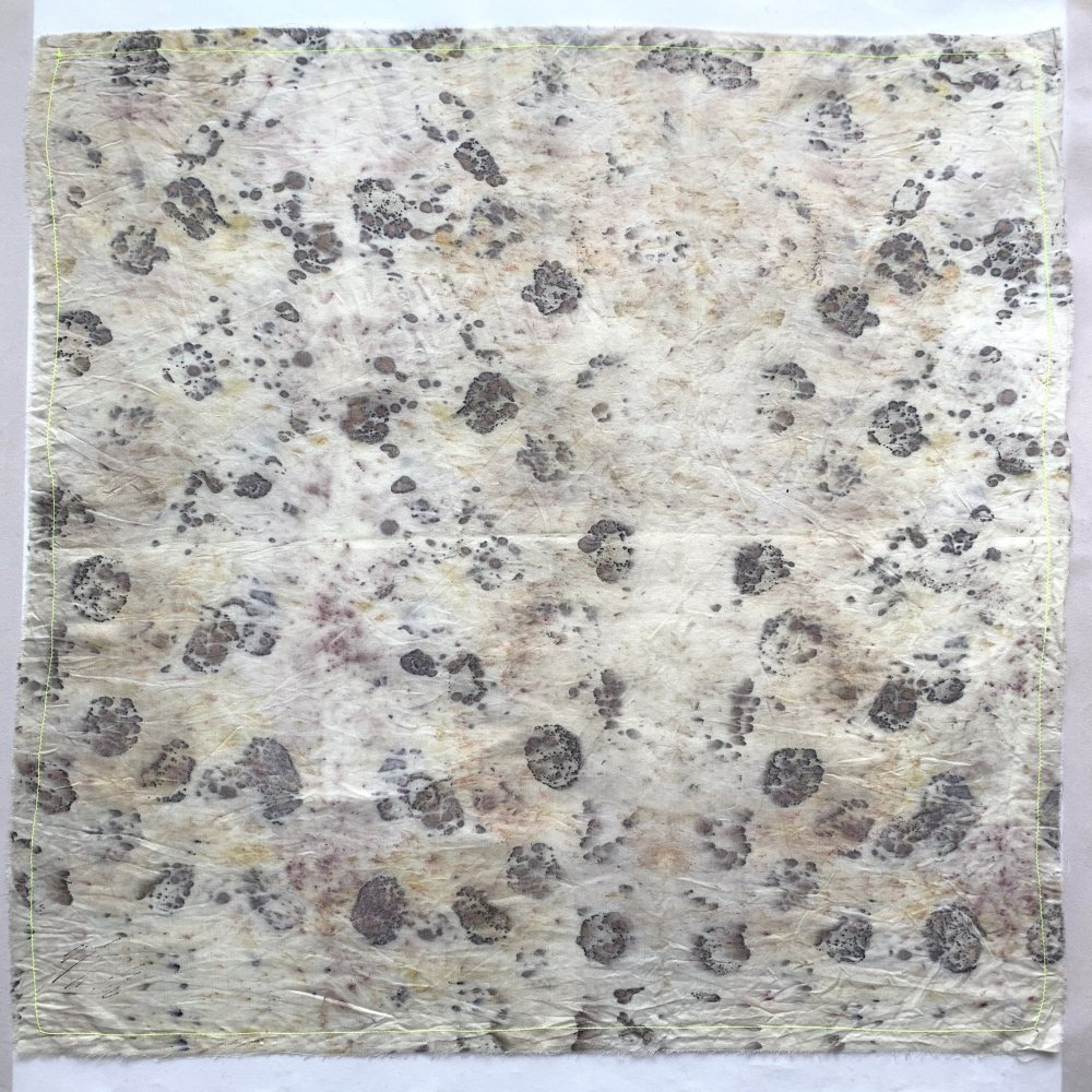 Funatabi atelier<br>multi cloth S<br>botanical dye