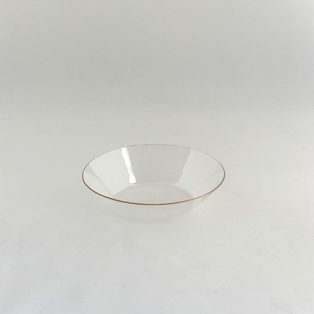 谷口 嘉<br>金縁 オーバル小鉢