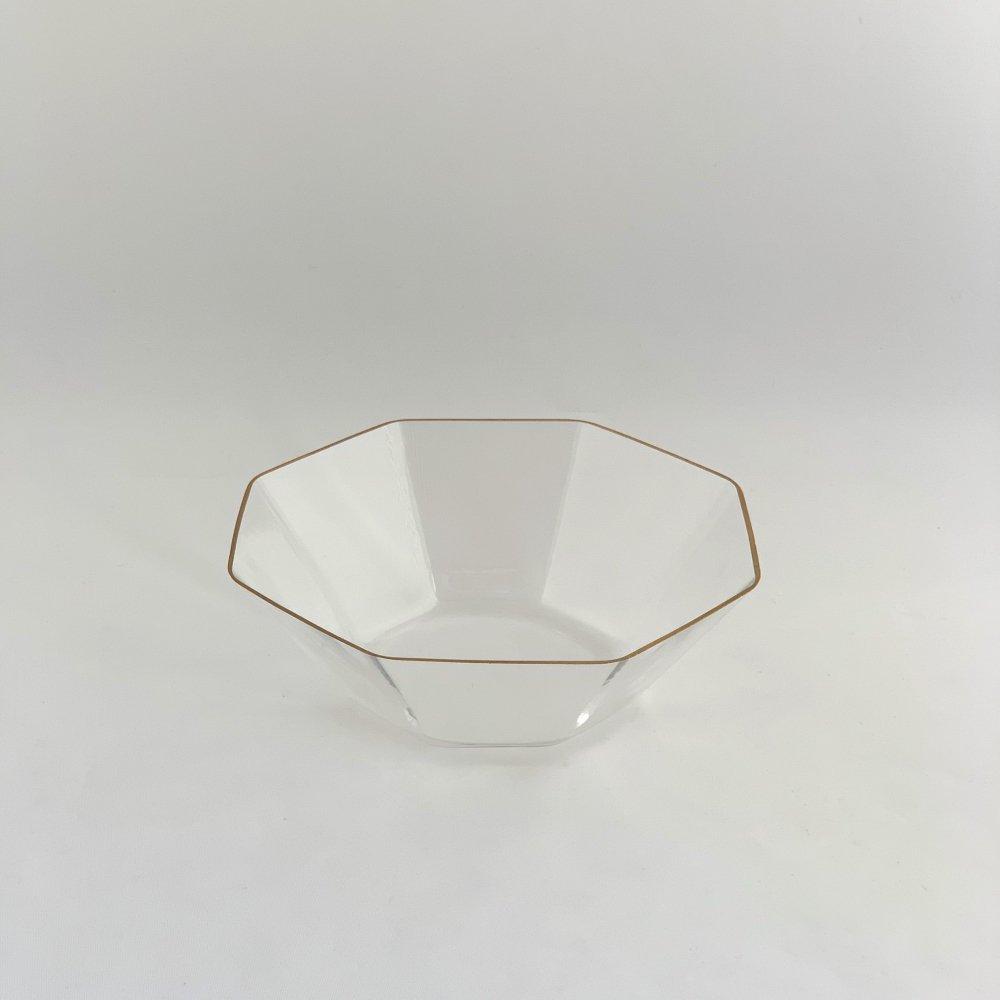谷口 嘉<br>金縁 八角鉢