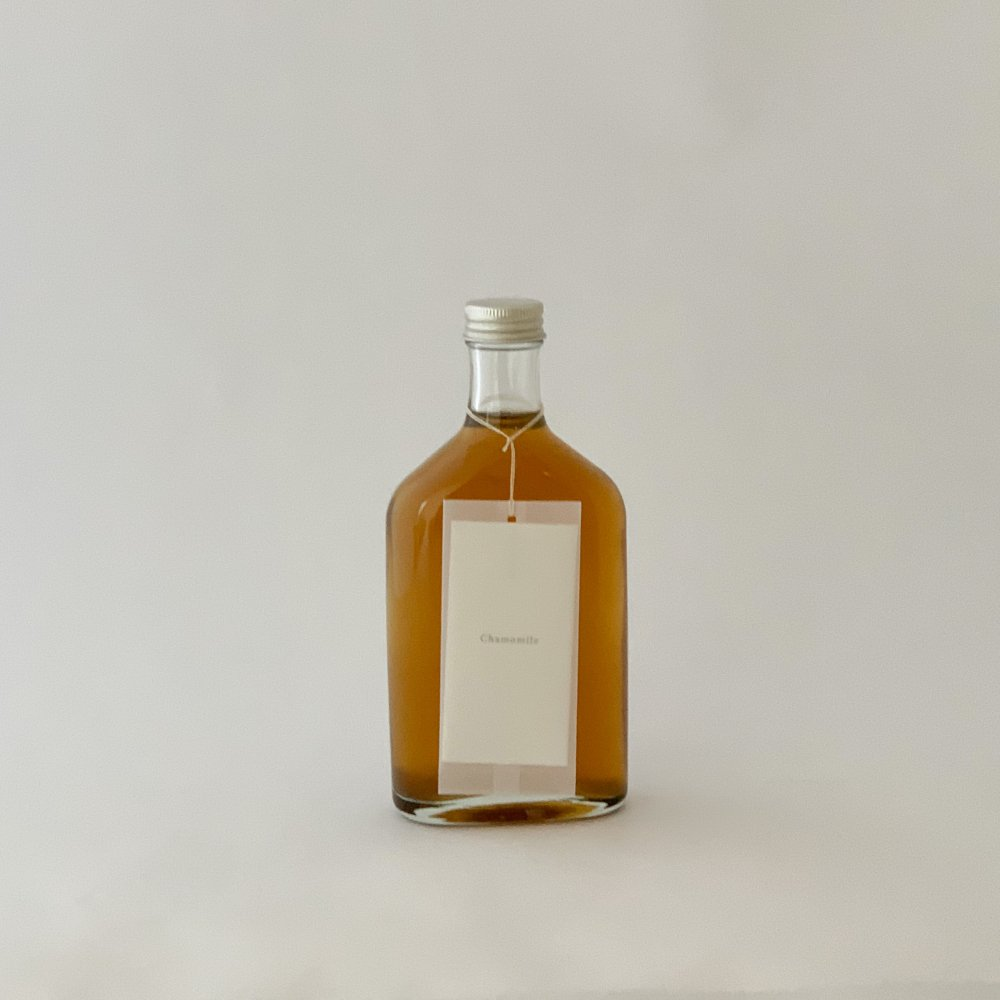 "calm<br>Chamomile syrup ""The new start of life"