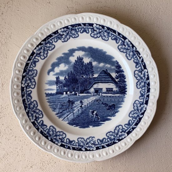 Societe Ceramique plate blue.b<img class='new_mark_img2' src='https://img.shop-pro.jp/img/new/icons47.gif' style='border:none;display:inline;margin:0px;padding:0px;width:auto;' />