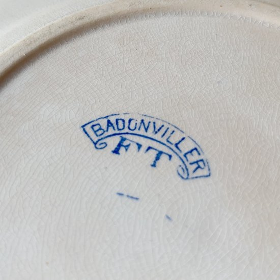 Badonviller vintage plate<img class='new_mark_img2' src='https://img.shop-pro.jp/img/new/icons47.gif' style='border:none;display:inline;margin:0px;padding:0px;width:auto;' />