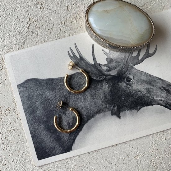 Gold hoop pierce<img class='new_mark_img2' src='https://img.shop-pro.jp/img/new/icons47.gif' style='border:none;display:inline;margin:0px;padding:0px;width:auto;' />