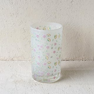 Vintage flower glass.c<img class='new_mark_img2' src='https://img.shop-pro.jp/img/new/icons47.gif' style='border:none;display:inline;margin:0px;padding:0px;width:auto;' />