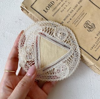 Vintage lace coaster