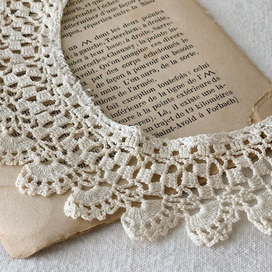 Antique lace collar<img class='new_mark_img2' src='https://img.shop-pro.jp/img/new/icons47.gif' style='border:none;display:inline;margin:0px;padding:0px;width:auto;' />