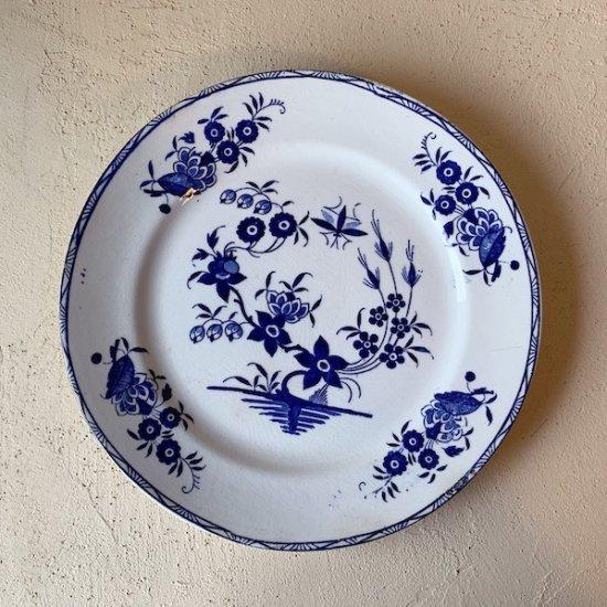 BOCH GRAND bouquet plate