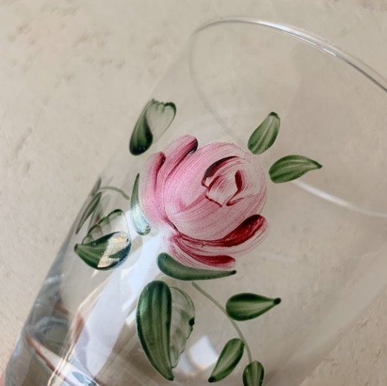 Vintage glass rose.b<img class='new_mark_img2' src='https://img.shop-pro.jp/img/new/icons47.gif' style='border:none;display:inline;margin:0px;padding:0px;width:auto;' />