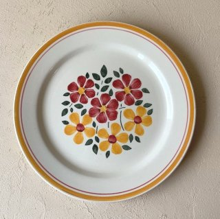 Antique flower plate.b<img class='new_mark_img2' src='https://img.shop-pro.jp/img/new/icons47.gif' style='border:none;display:inline;margin:0px;padding:0px;width:auto;' />