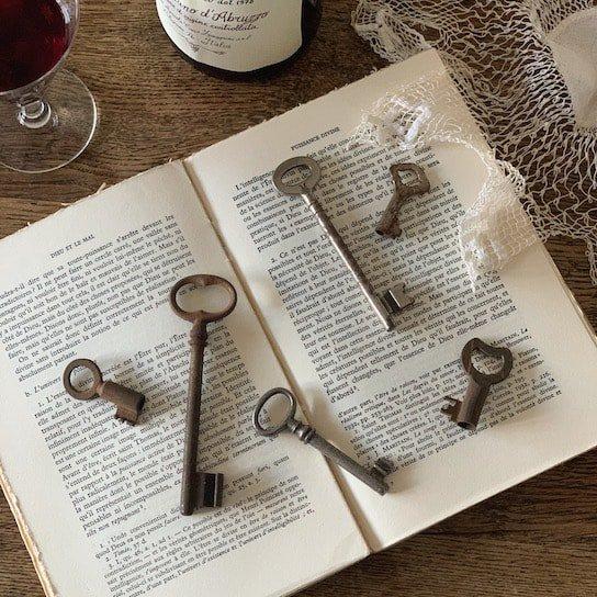France antique key.e