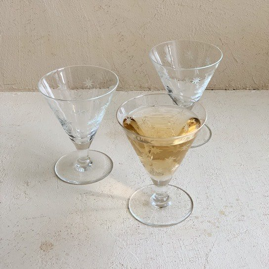 Antique liqueur glass set<img class='new_mark_img2' src='https://img.shop-pro.jp/img/new/icons47.gif' style='border:none;display:inline;margin:0px;padding:0px;width:auto;' />