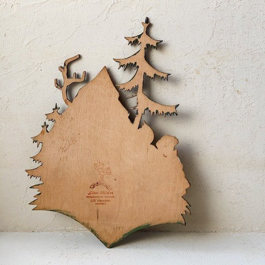 Vintage wood object