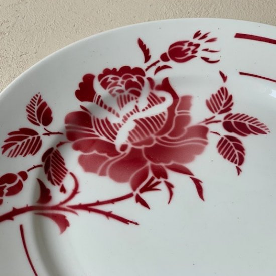 Antique rose plate.b<img class='new_mark_img2' src='https://img.shop-pro.jp/img/new/icons47.gif' style='border:none;display:inline;margin:0px;padding:0px;width:auto;' />