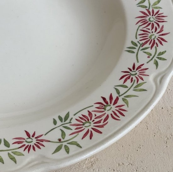 Vintage soup plate<img class='new_mark_img2' src='https://img.shop-pro.jp/img/new/icons47.gif' style='border:none;display:inline;margin:0px;padding:0px;width:auto;' />