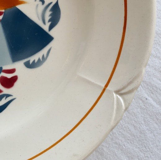 Antique longchamp plate.a<img class='new_mark_img2' src='https://img.shop-pro.jp/img/new/icons47.gif' style='border:none;display:inline;margin:0px;padding:0px;width:auto;' />