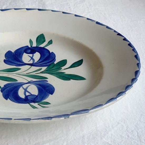 Antique flower plate<img class='new_mark_img2' src='https://img.shop-pro.jp/img/new/icons47.gif' style='border:none;display:inline;margin:0px;padding:0px;width:auto;' />