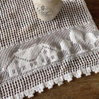 Vintage lace cloth
