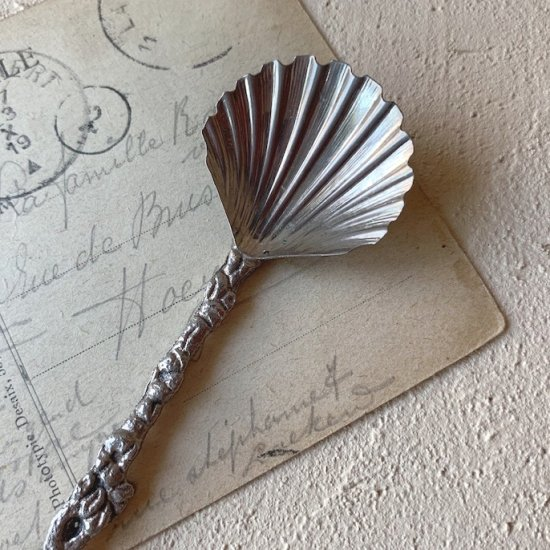 Antique shell spoon