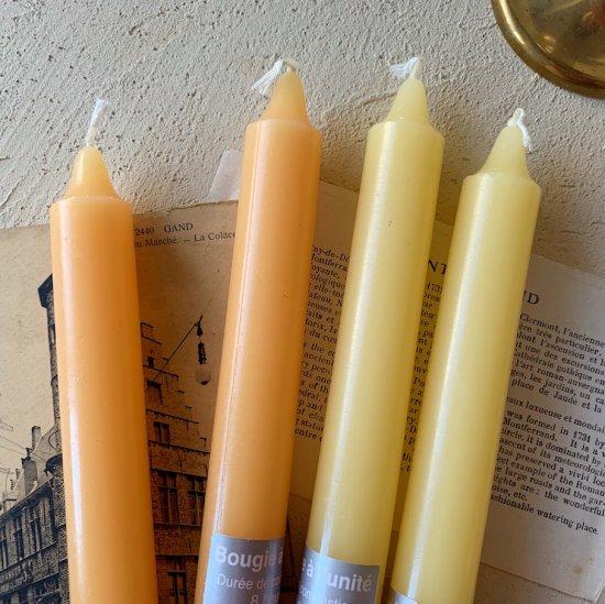 Classic candle.orange