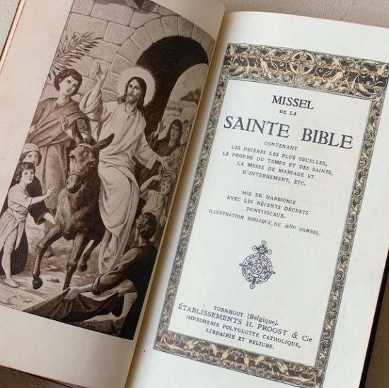 France antique bible
