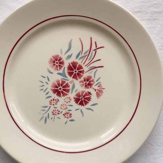 Badonviller antique plate.b
