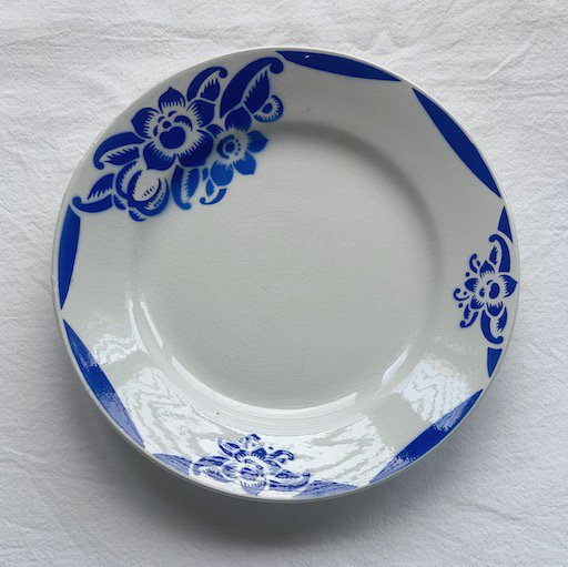 Badonviller antique plate.a<img class='new_mark_img2' src='https://img.shop-pro.jp/img/new/icons47.gif' style='border:none;display:inline;margin:0px;padding:0px;width:auto;' />