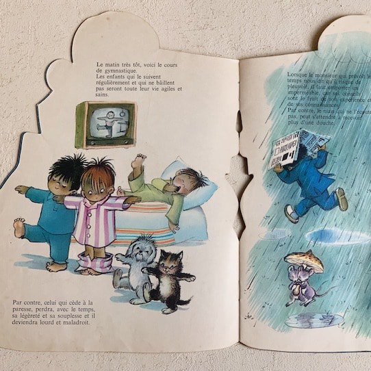 Vintage picture book.b